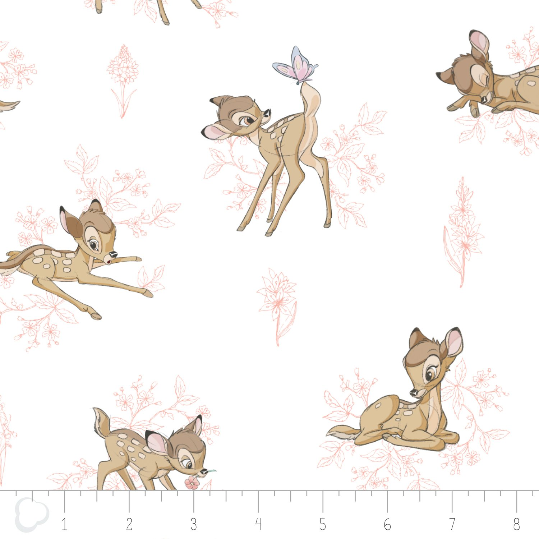 Bambi - Toile - Pink