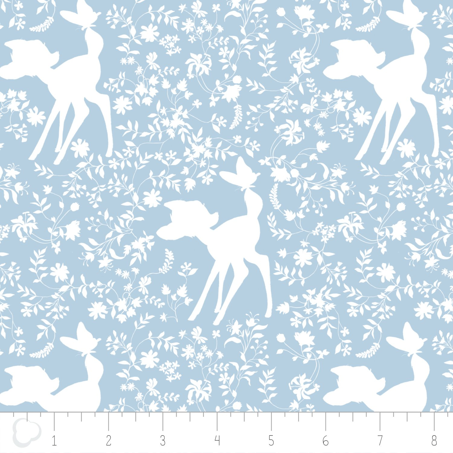 Bambi - Silhouette - Blue