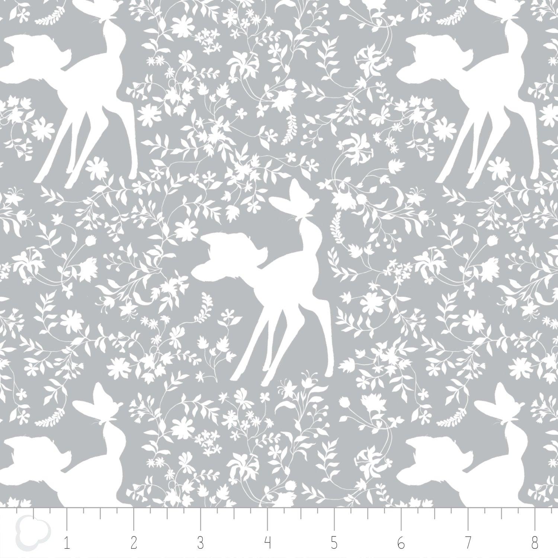 Bambi - Silhouette - Grey