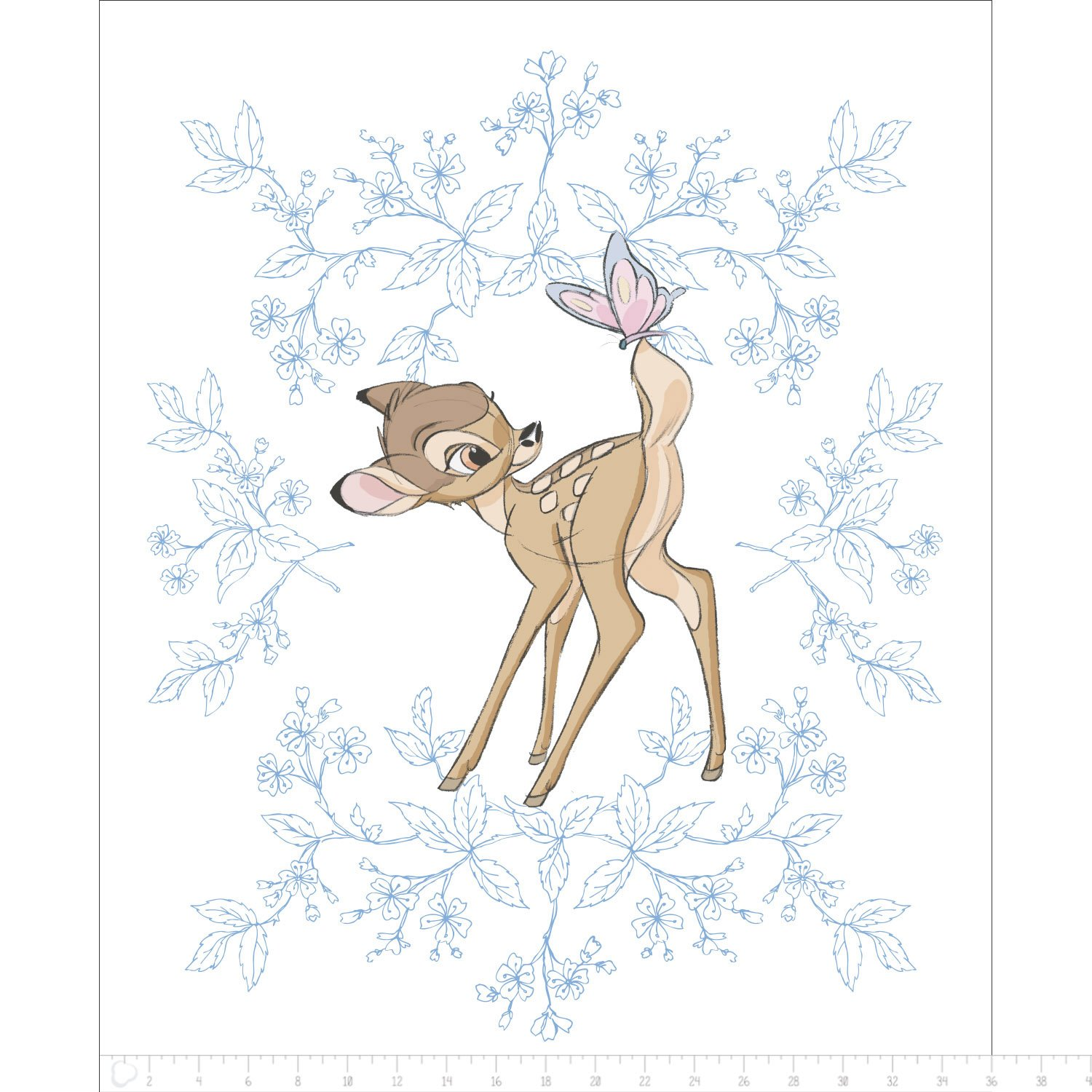 Bambi - Butterfly Panel