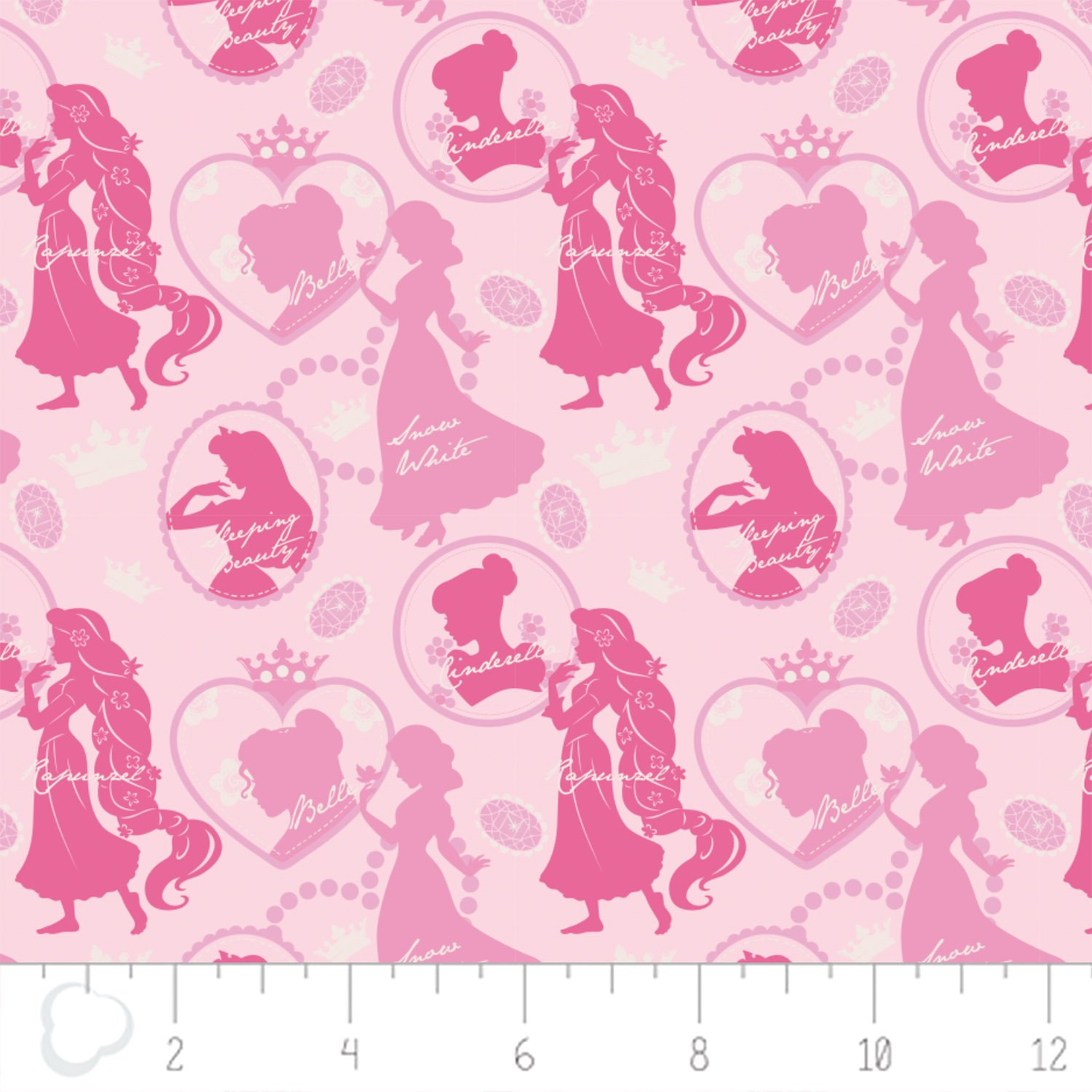 Camelot - Disney Princesses - Silhouette in Cotton Candy