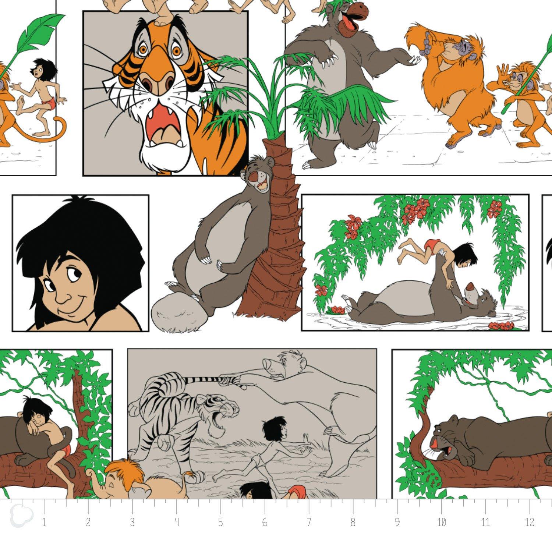 The Jungle Book - Main Character Blocks - White