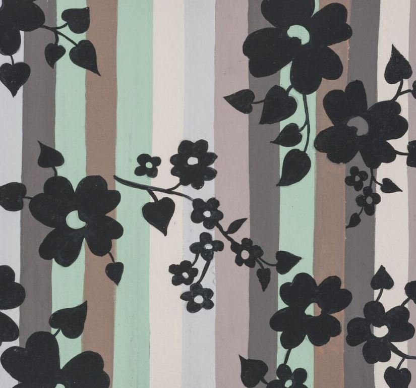 Alexander Henry - A Ghastlie Stripe - Gray