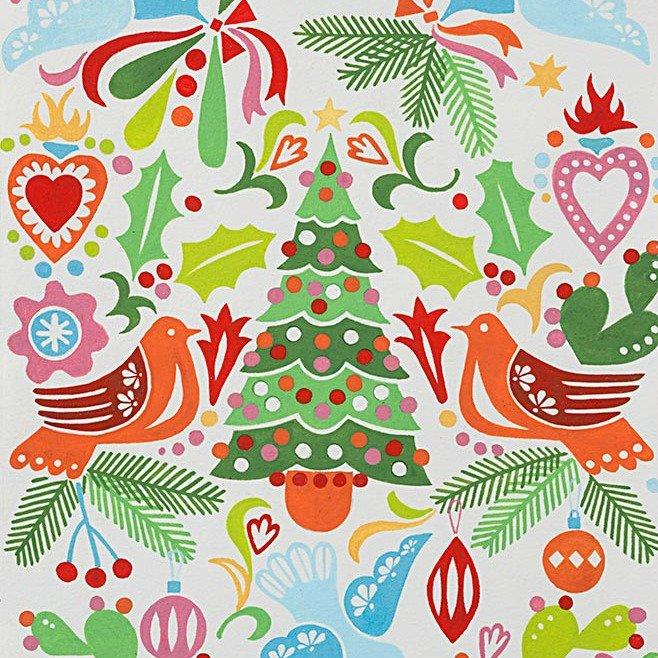 Christmas Time - Paloma Navidad - Natural