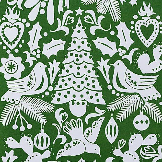 Christmas Time - Paloma Navidad - Green