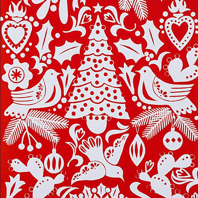 Christmas Time - Paloma Navidad - Red