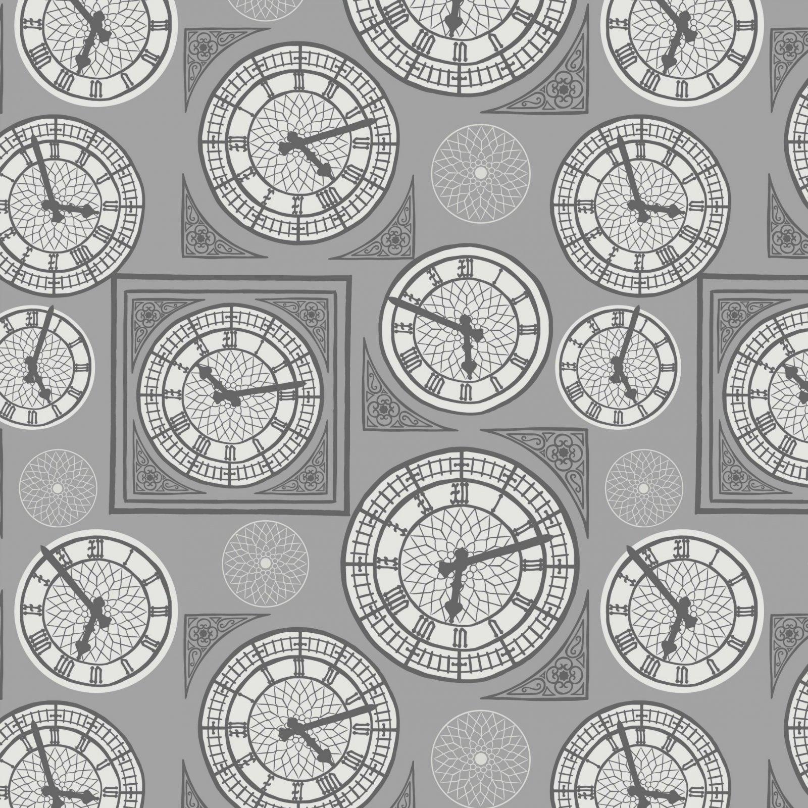 Britannia -  Clocks - Grey
