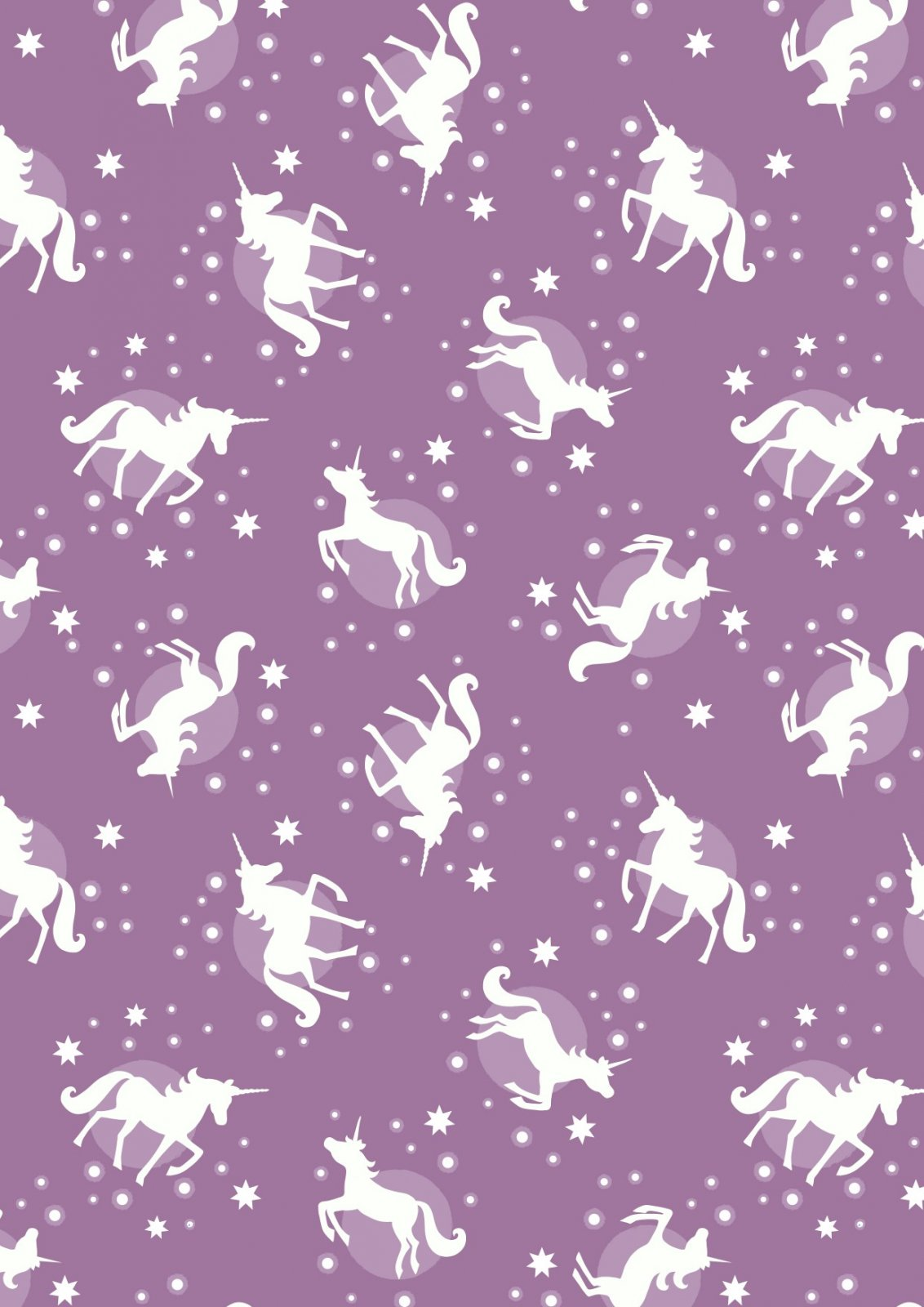 Fairy Nights - Unicorn Spots - Blackberry