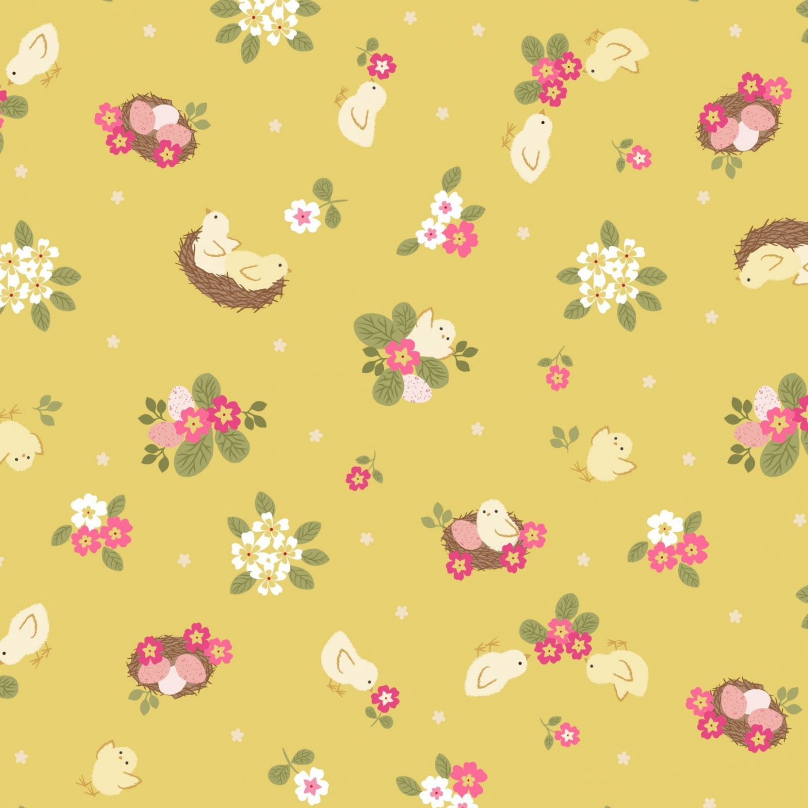 Bunny Hop - Chicks - Yellow