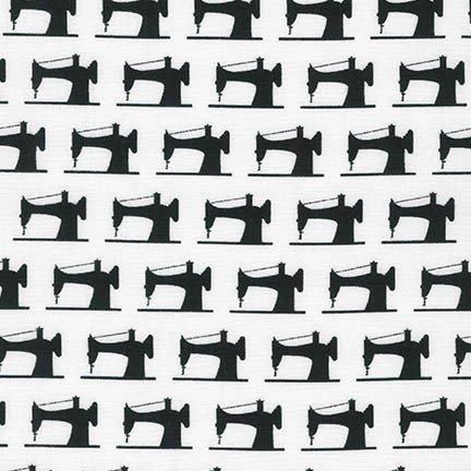 Robert Kaufman - Sewing Studio 2 - White