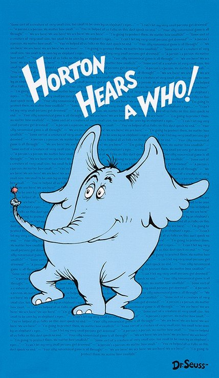 Horton Hears A Who - Horton Panel