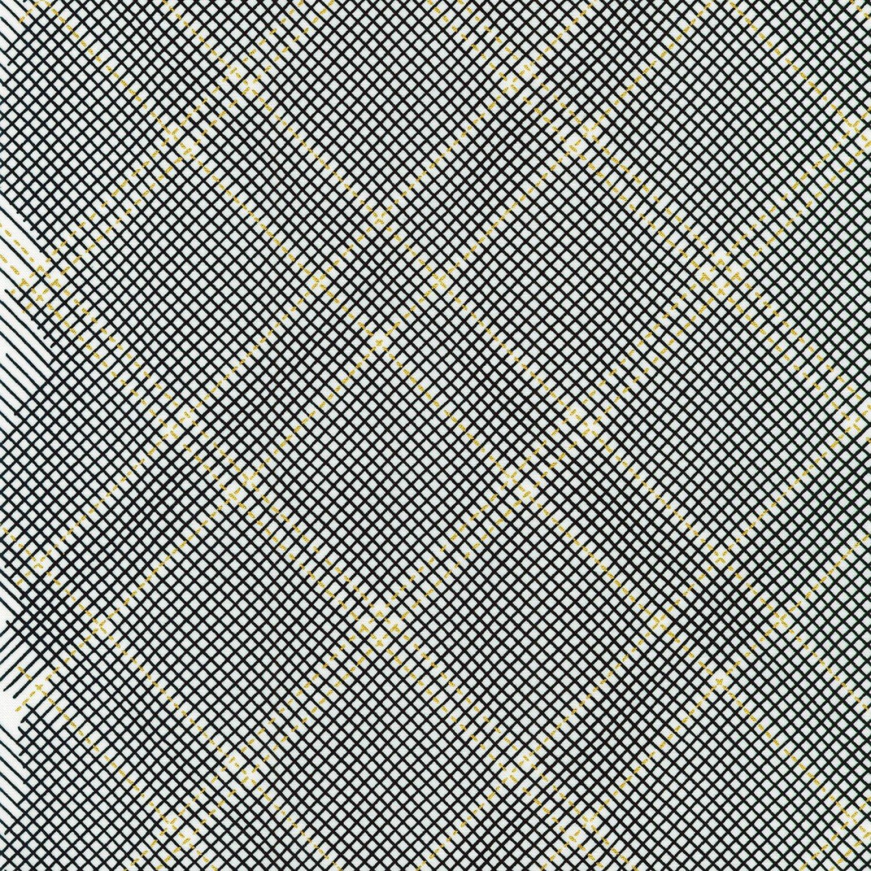 Collection CF - Metallic Grid Lines - Onyx