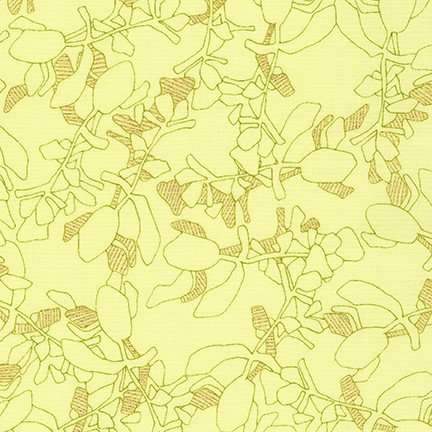 Collection CF - Metallic Leaves - Bright