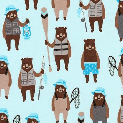 Brawny Bears - Bears - Denim