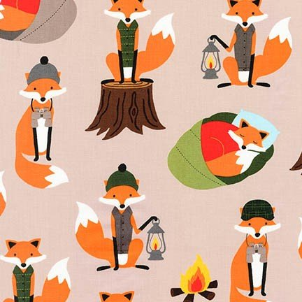 Andie Hanna - Campsite Critters - Fox - Earth
