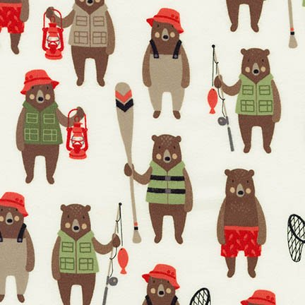 Brawny Bears Flannel - AHEF-16714-286 Wild