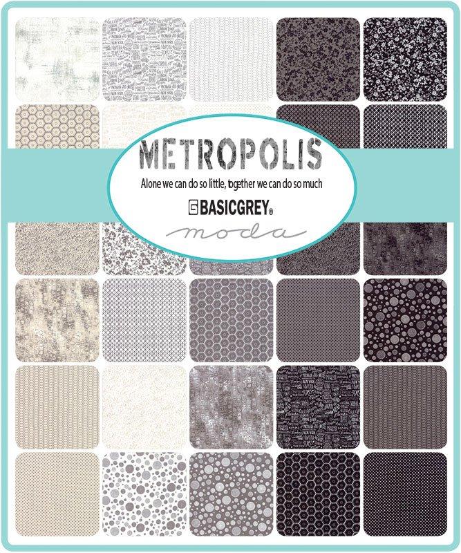 BasicGrey - Metropolis Charm Squares