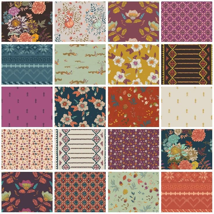 Autumn Vibes - Fat Quarter Bundle