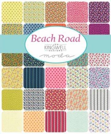 Jen Kingwell - Beach Road -  Half Yard Bundle