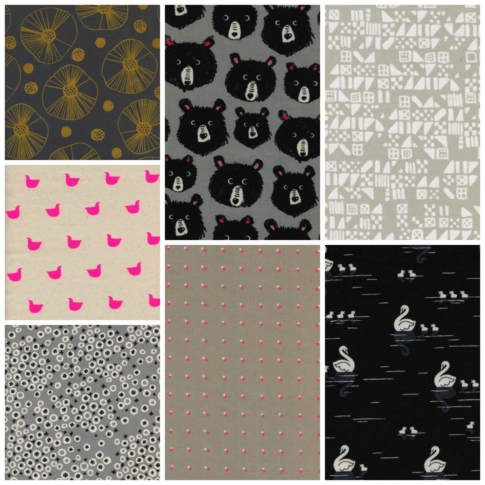 Black and White 2017 - Fat Quarter Bundle
