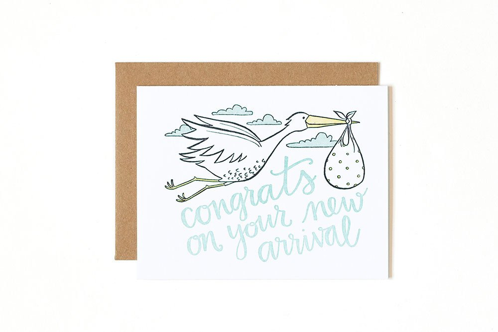 Card - Congrats On Your New Arrival