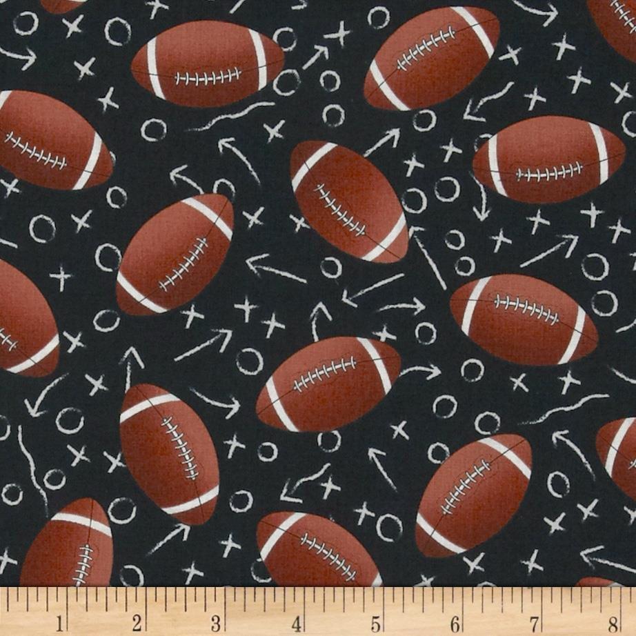 Sports - Footballs Black