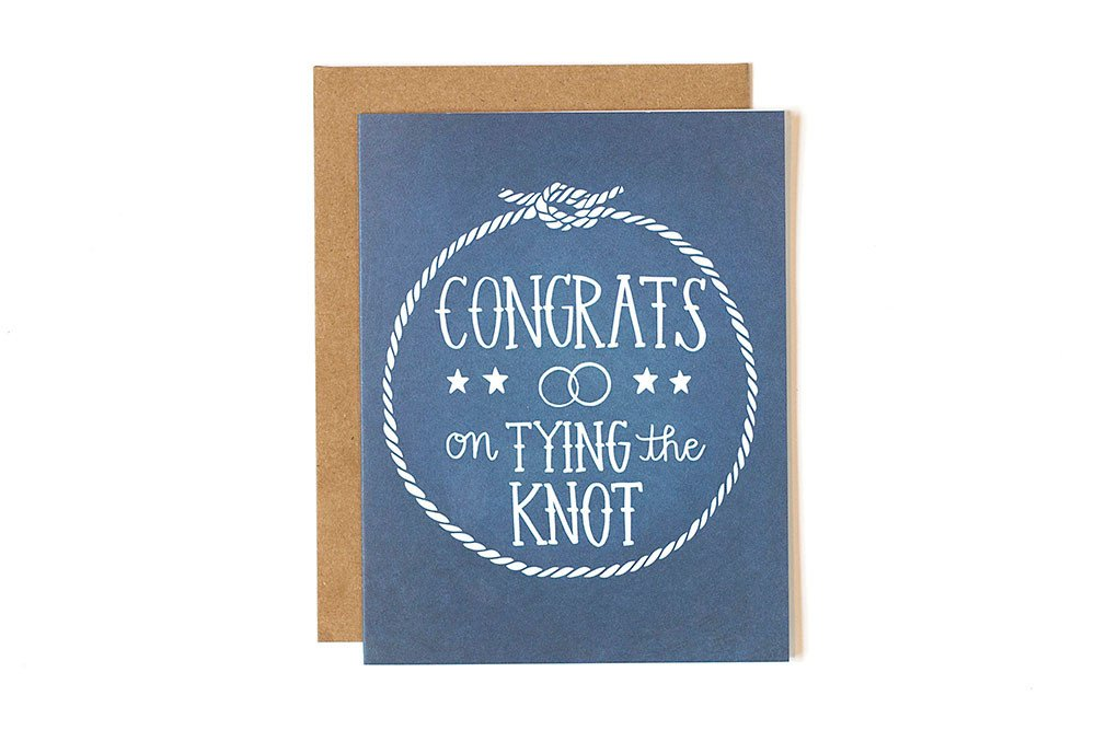 Card - Congrats on Tying the Knot