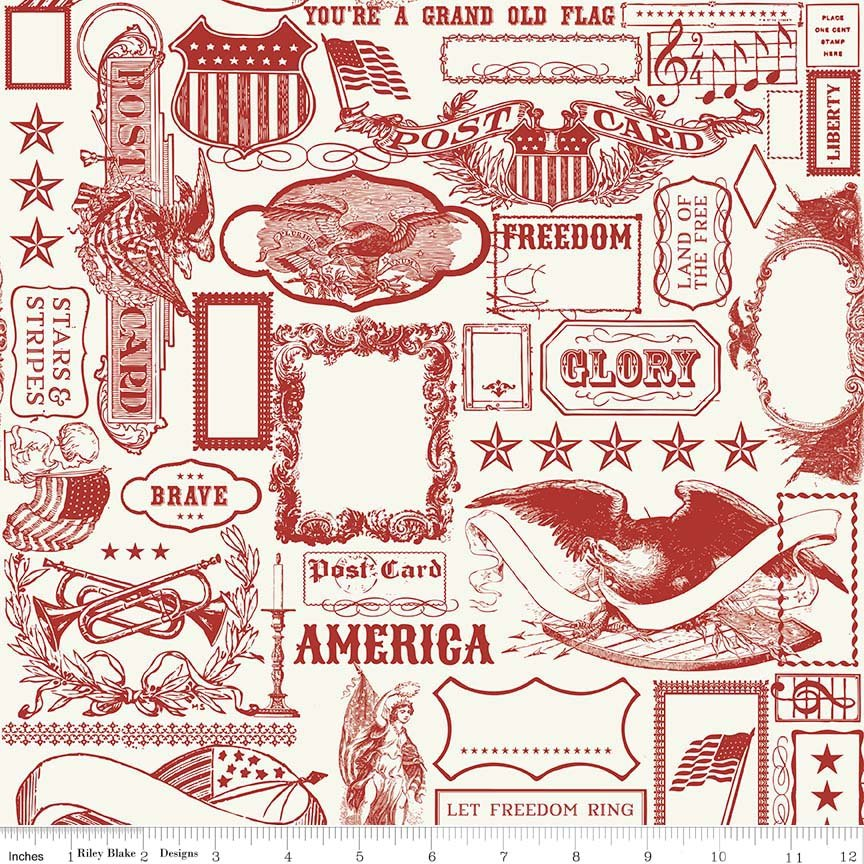 Lost and Found Americana - Main - Red