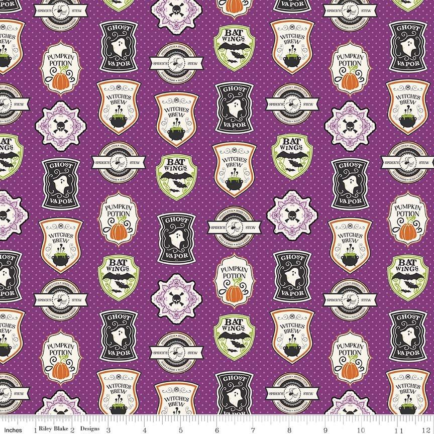 Eek Boo Shriek - Badges - Purple