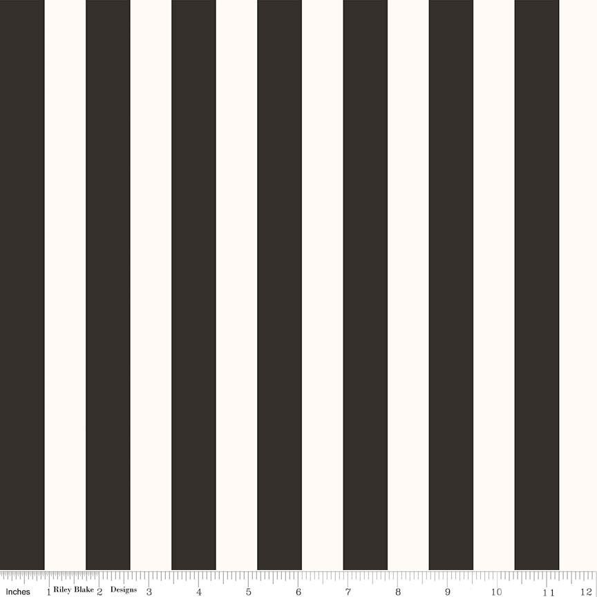 Yes, Please - Stripes - Black