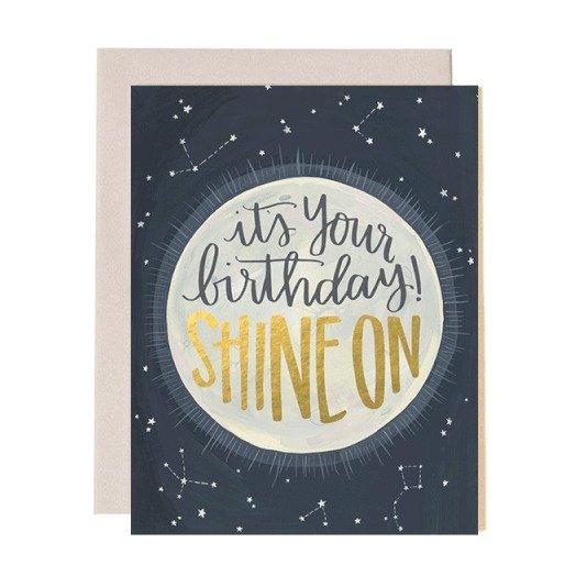 Card - Birthday Shine On