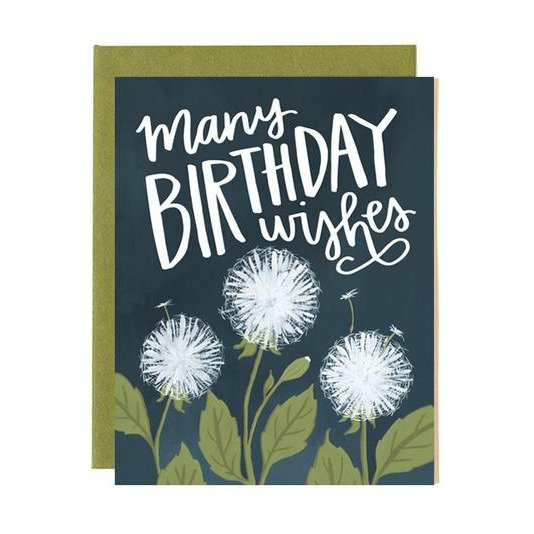 Card - Dandelion Birthday