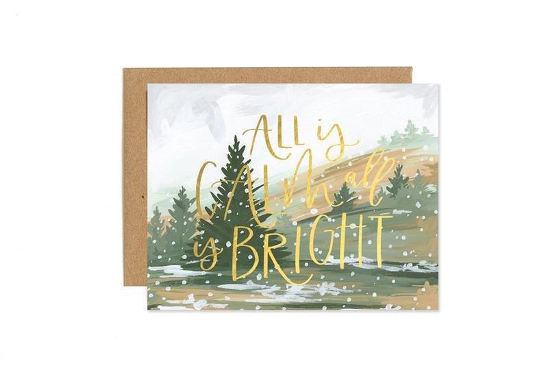 Card - Calm & Bright Landscape