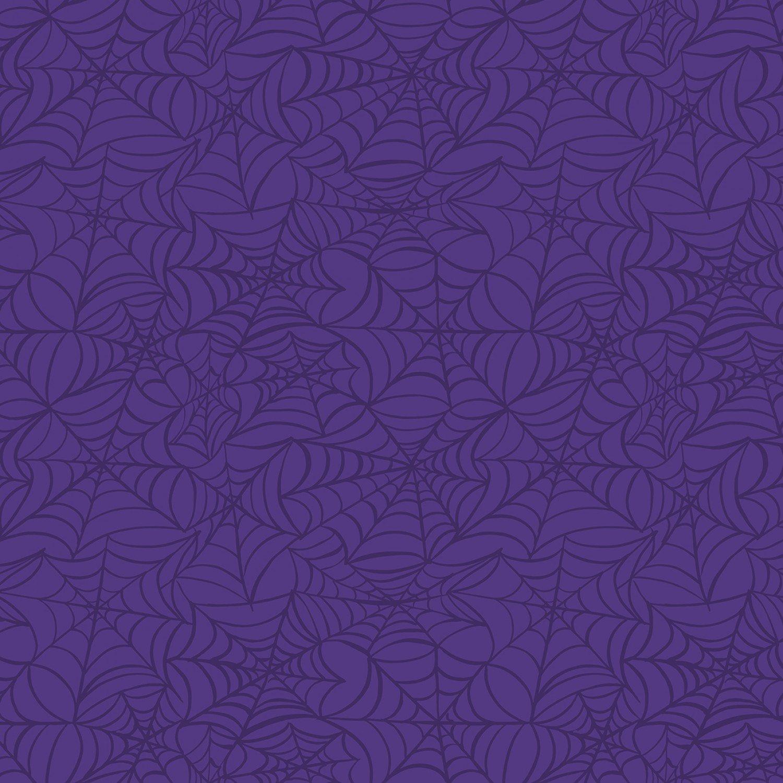 Hocus Pocus - Spiderwebs - Purple