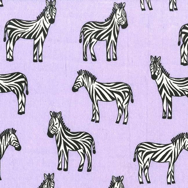 Michael Miller - Zippy Zebra - Lavender