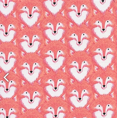 Sarah Watts - Magic Forest - Foxes Coral