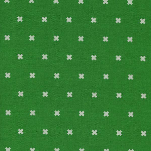 Cotton + Steel - Basics - XOXO - Shamrock