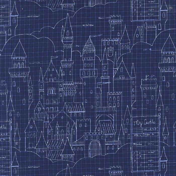 Sarah Jane - Magic - Castle Plans - Navy