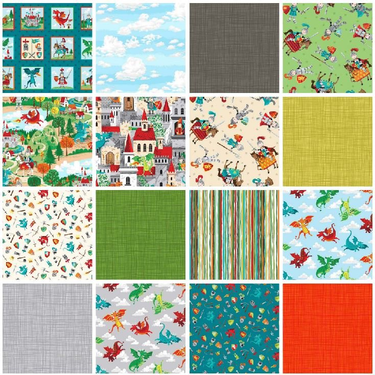 Dragonheart Fat Quarter Bundle