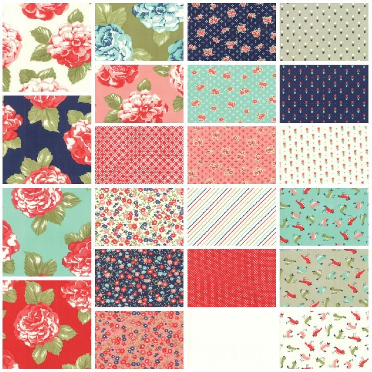 Bonnie & Camille - Early Bird Fat Quarter Bundle