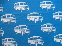 Echino - Bonnet Bus - Blue