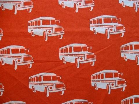 Echino - Bonnet Bus - Orange