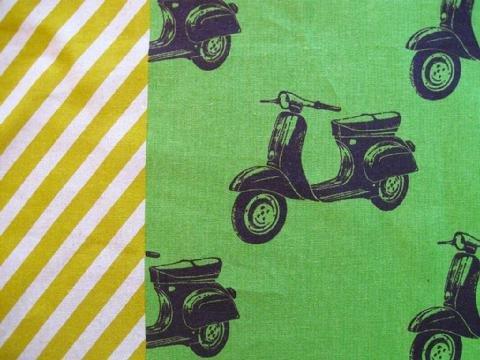 Echino - Scooters B - Green