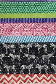 Echino - Zebra - Black