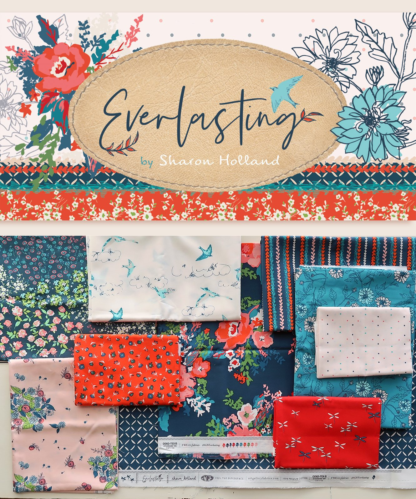 Everlasting - Half Yard Bundle
