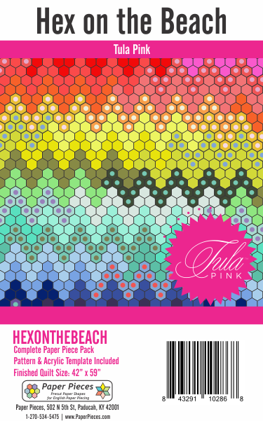 Hex on the Beach Pattern & Paper Piece Pack