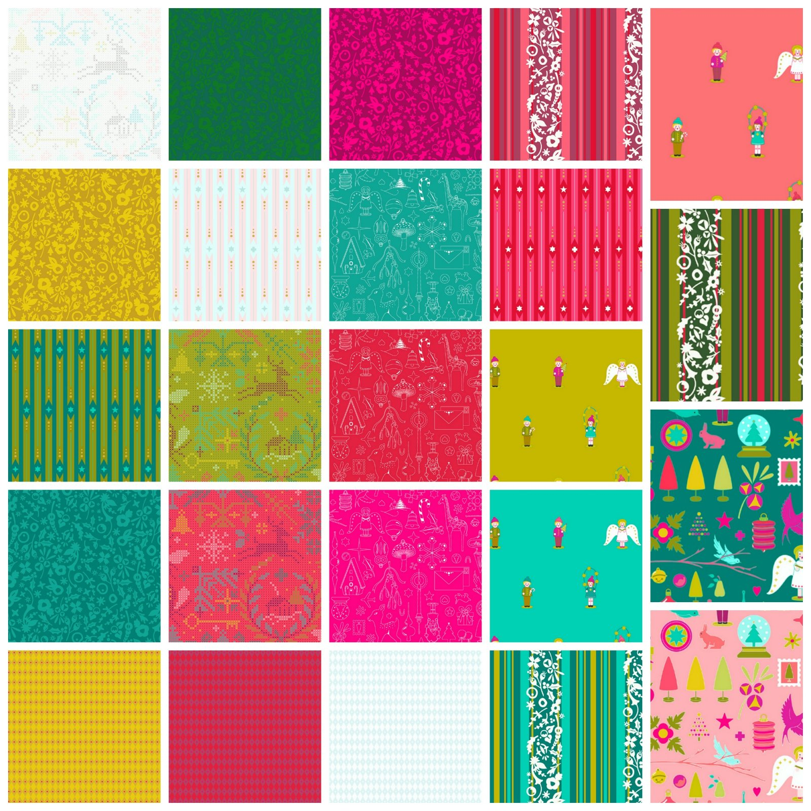 Holiday - Half Yard Bundle