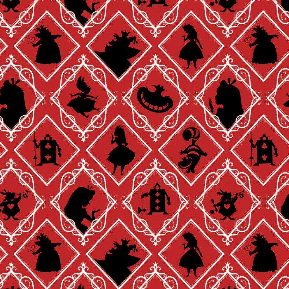 Alice In Wonderland Frames Red