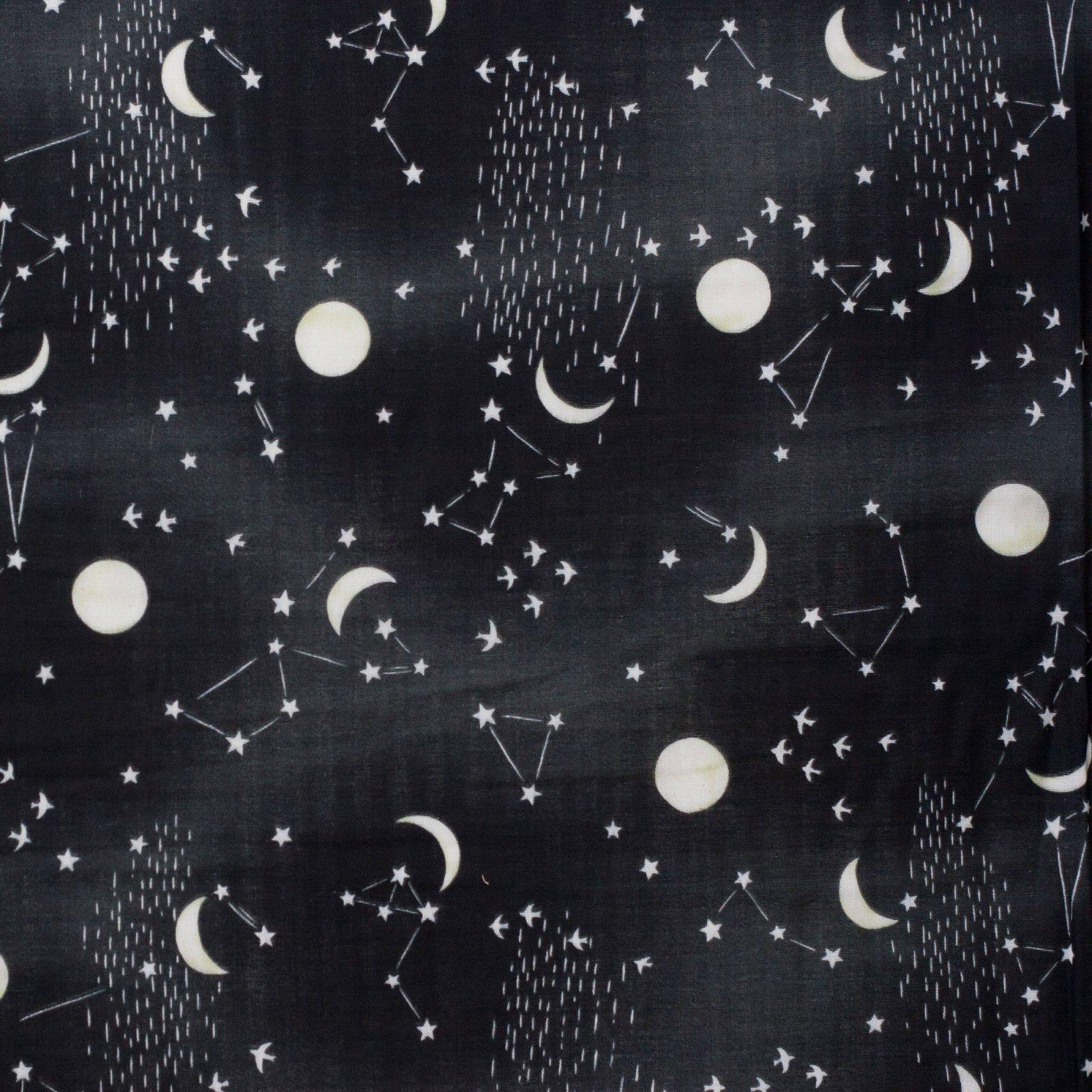 Kokka - Night Sky double gauze
