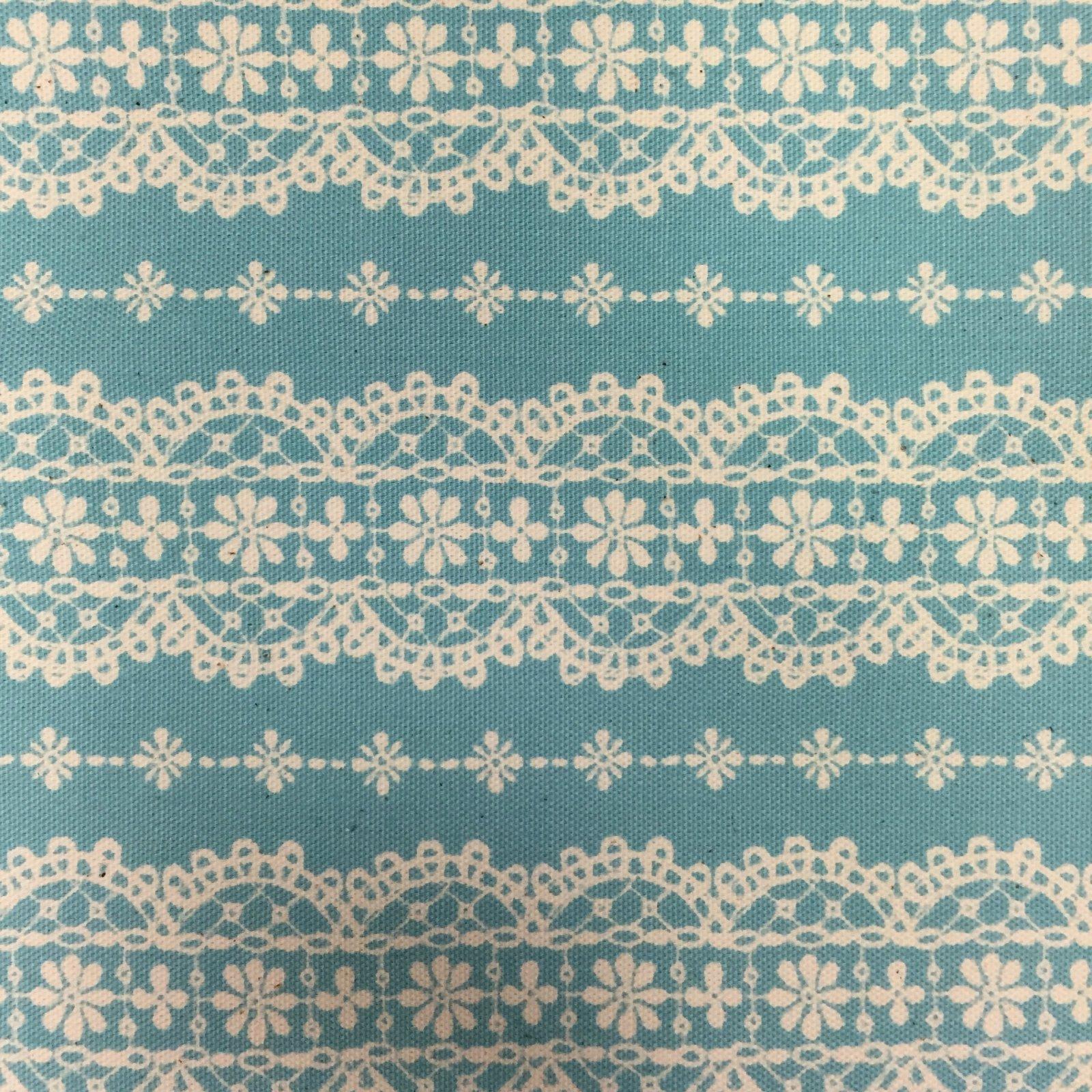 Kokka - Alice in Wonderland - Blue Lace